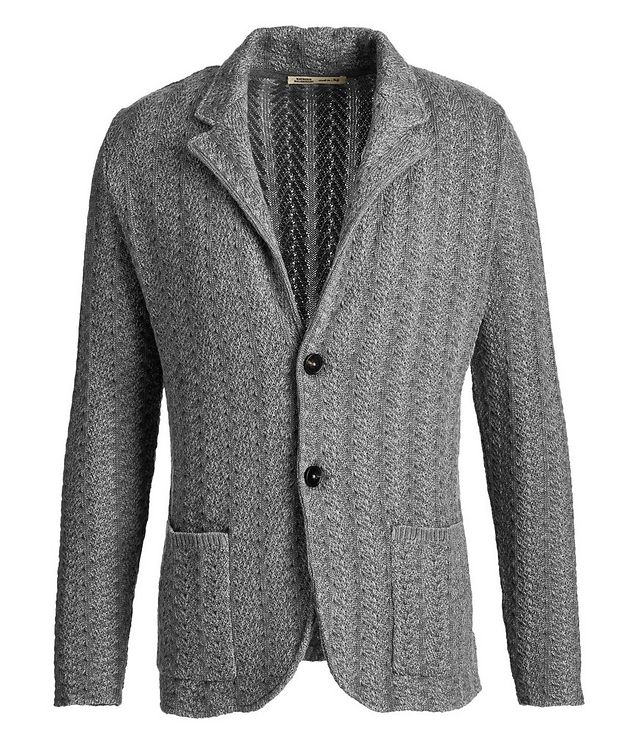Knit Wool Cardigan picture 1
