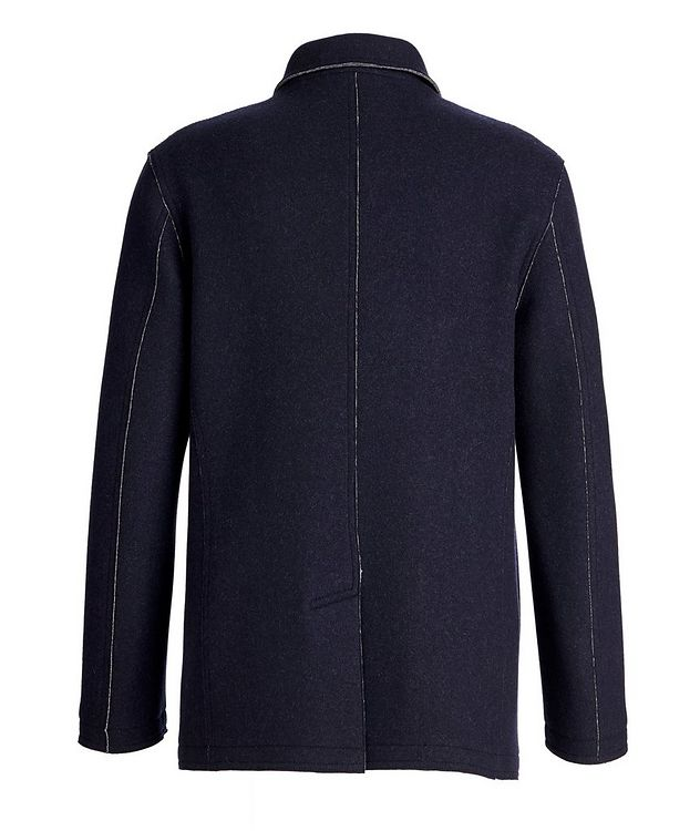 Virgin Wool-Cashmere Coat picture 2