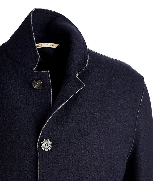 Virgin Wool-Cashmere Coat picture 3