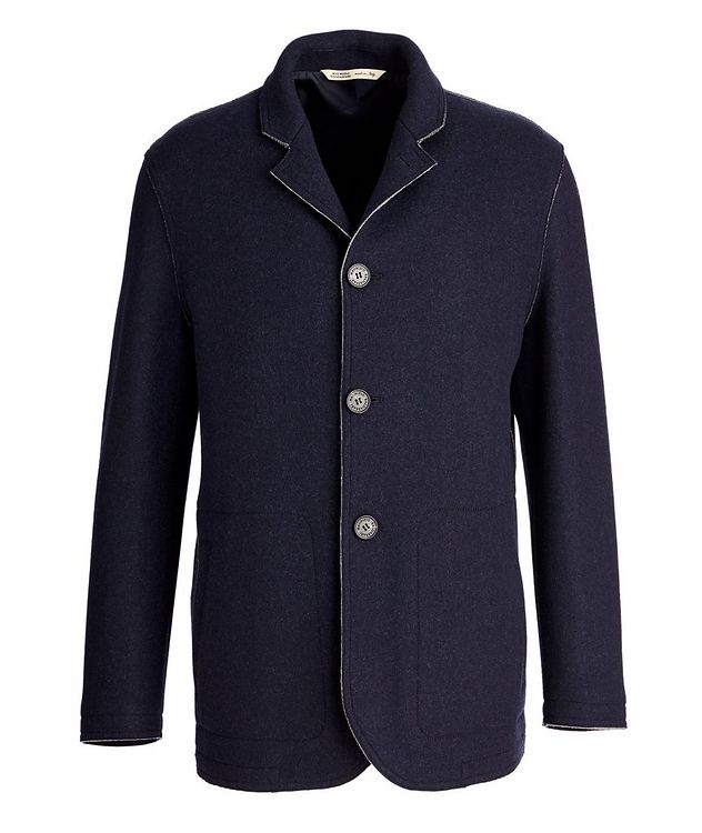 Virgin Wool-Cashmere Coat picture 1
