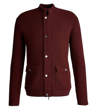 Maurizio Baldassari Knit Button-Up Cardigan