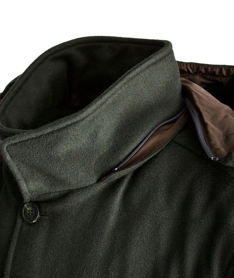 Hooded Cashmere Vest image 2