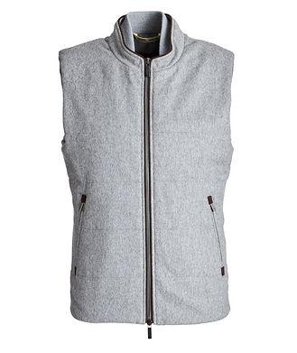 Maurizio Baldassari Zip-Up Cashmere Vest