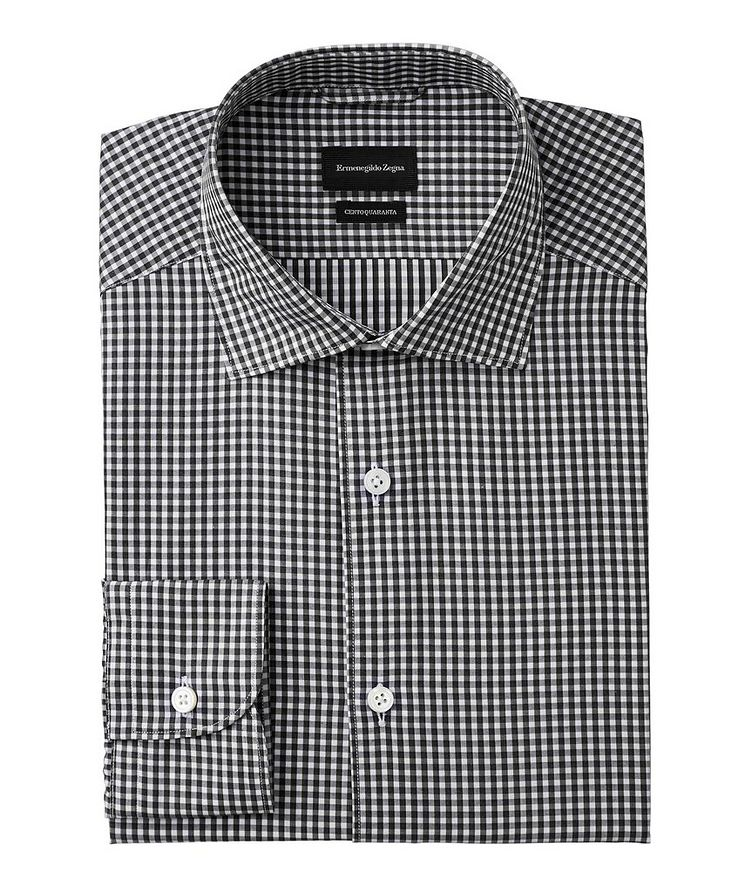 Cento Quaranta Checked Cotton Shirt image 0