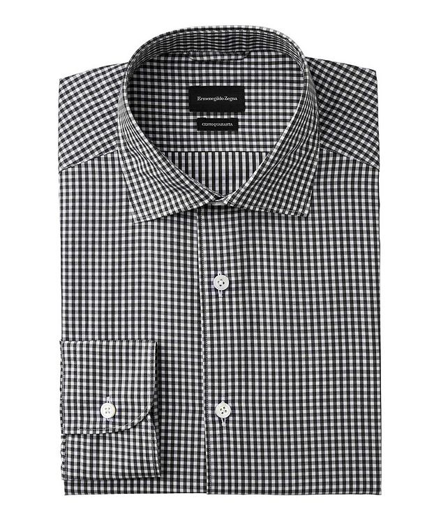 Cento Quaranta Checked Cotton Shirt picture 1
