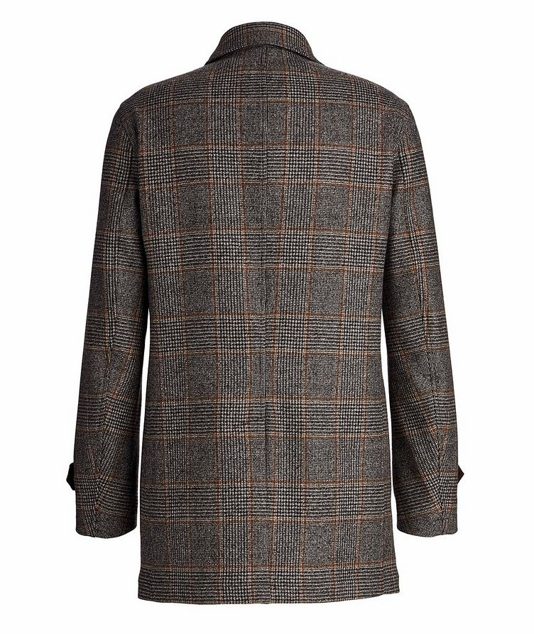 Checked Wool Coat image 1