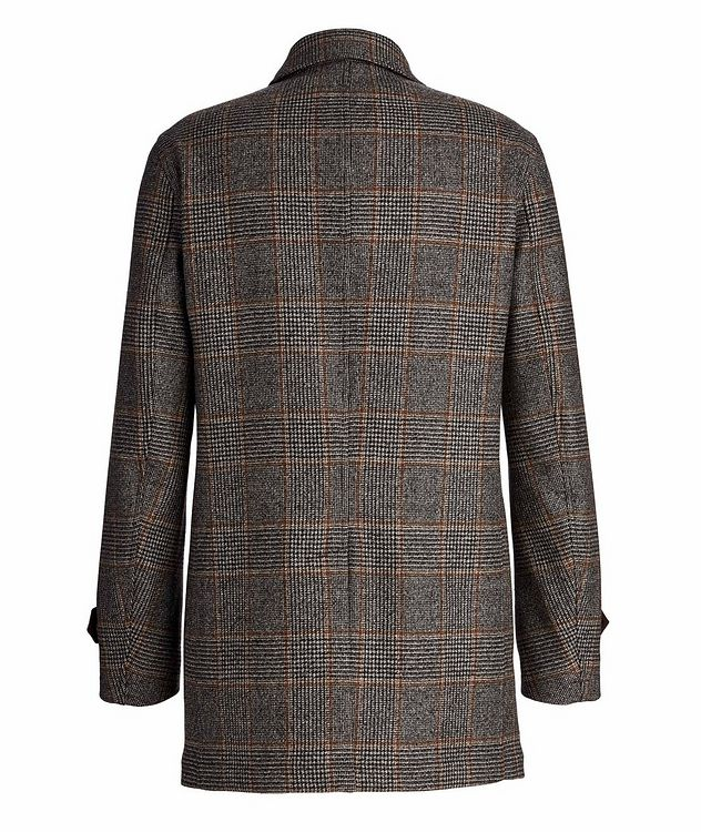 Checked Wool Coat picture 2