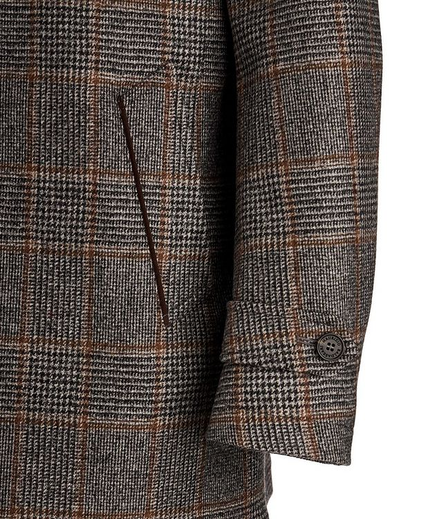 Checked Wool Coat picture 4