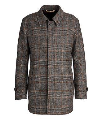 Maurizio Baldassari Checked Wool Coat