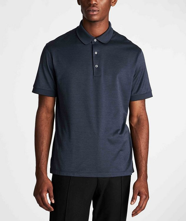 Cotton Knit Polo picture 2