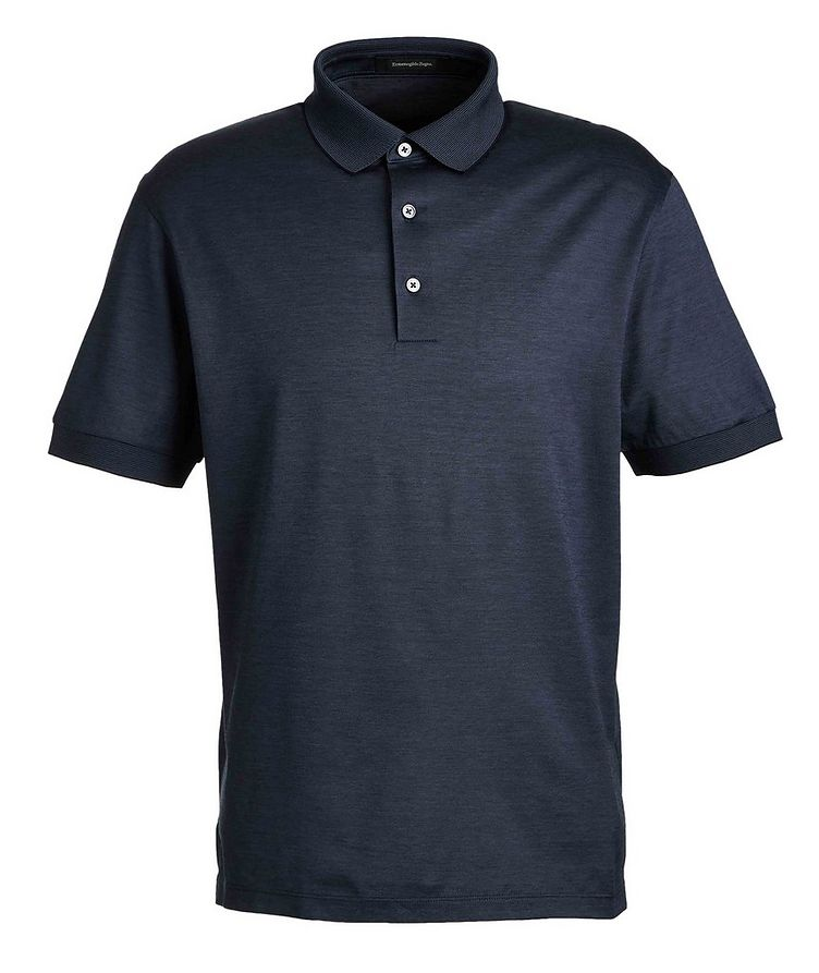 Cotton Knit Polo image 0