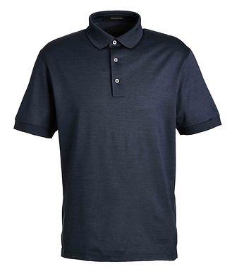 Ermenegildo Zegna Cotton Knit Polo