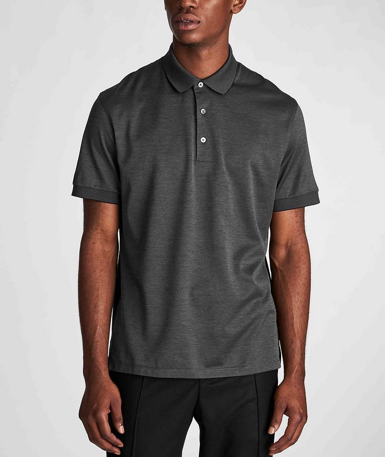 Cotton Knit Polo image 1