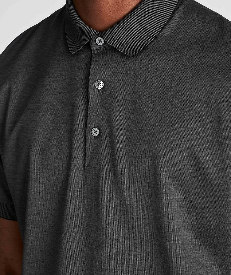 Cotton Knit Polo image 3
