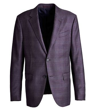 Ermenegildo Zegna Milano Easy Checked Sports Jacket