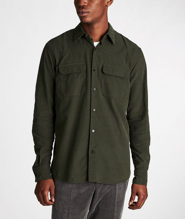 Corduroy Worker Shirt picture 2