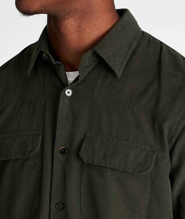 Corduroy Worker Shirt picture 4