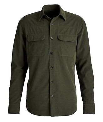 Ermenegildo Zegna Corduroy Worker Shirt