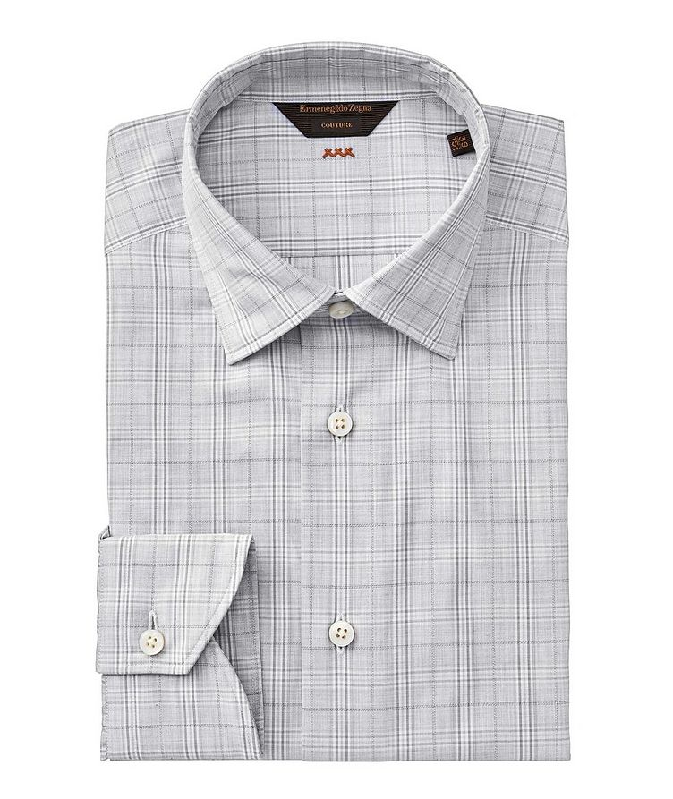 Contemporary Fit Checked Couture Dress Shirt image 0