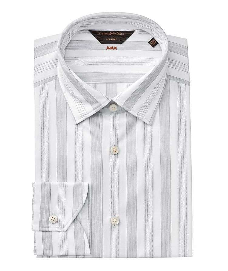 Contemporary Fit Striped Couture Dress Shirt image 0