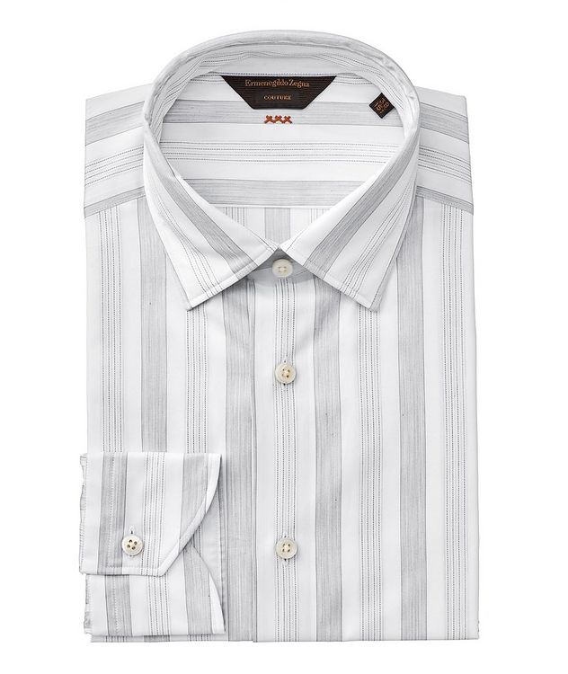 Contemporary Fit Striped Couture Dress Shirt picture 1