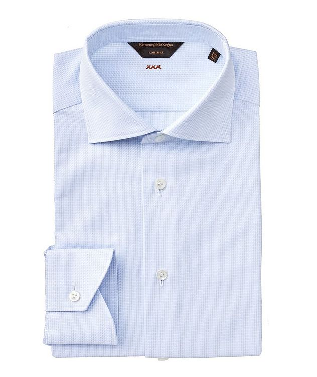 Contemporary Fit Checked Couture Dress Shirt picture 1