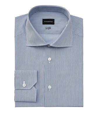 Ermenegildo Zegna Milano Contemporary-Fit Striped Dress Shirt