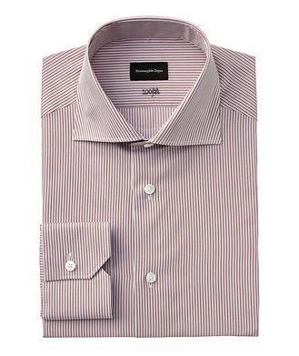 Ermenegildo Zegna Slim Fit Striped 100fili Dress Shirt
