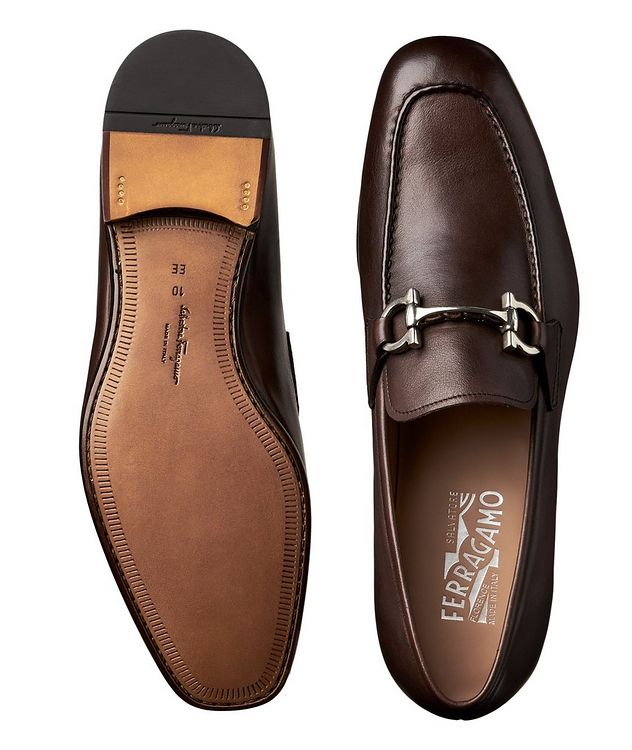 Gancini Bit Loafers picture 3