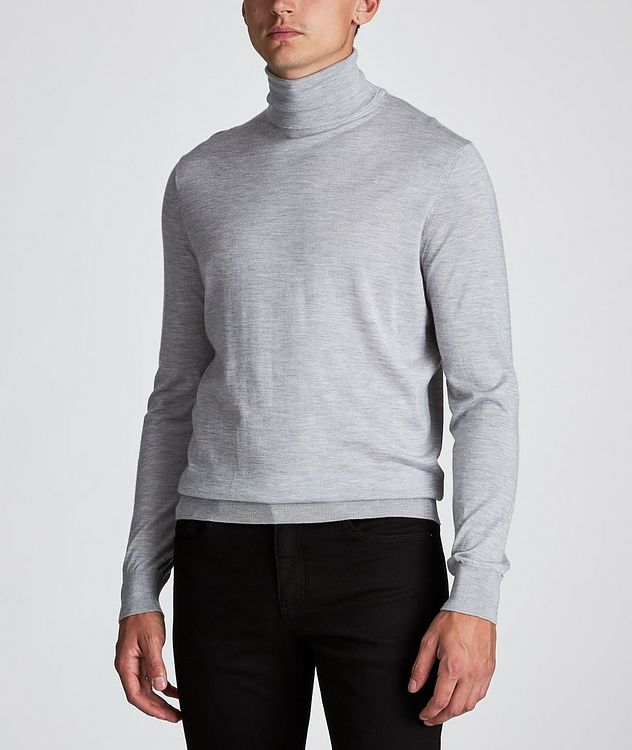 Cashmere-Silk Turtleneck picture 2