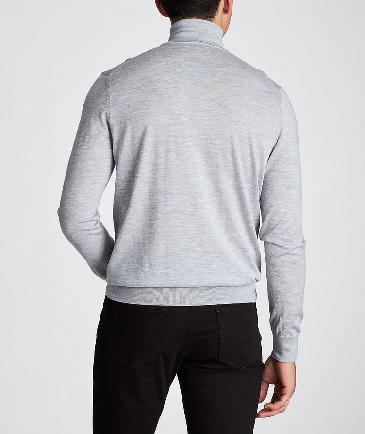 Cashmere-Silk Turtleneck image 2