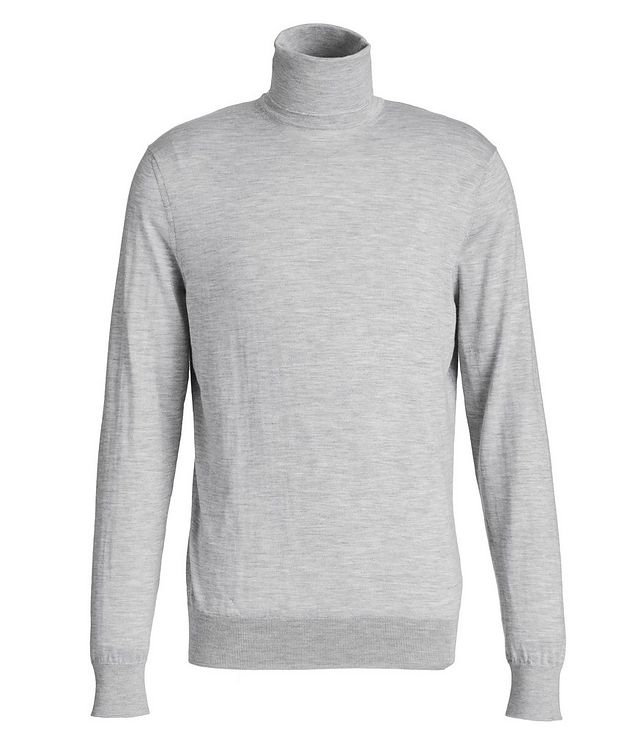 Cashmere-Silk Turtleneck picture 1