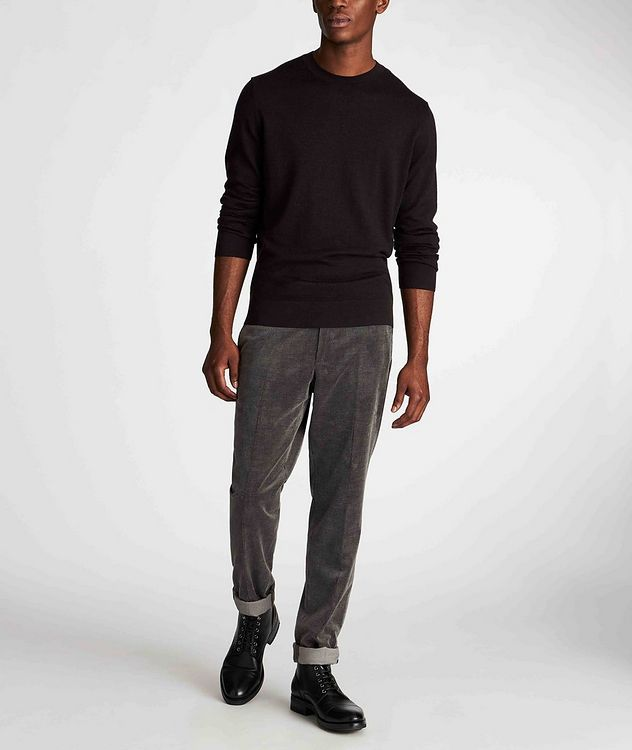 Wool, Cashmere, and Silk Sweater picture 5