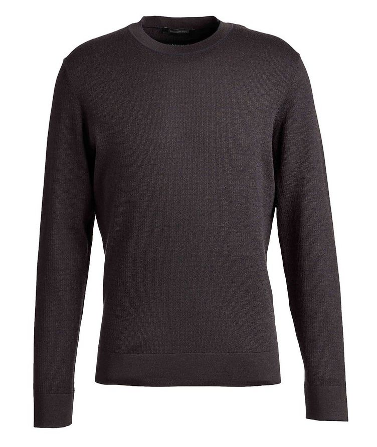 Wool, Cashmere, and Silk Sweater image 0