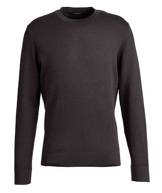 Ermenegildo Zegna Wool, Cashmere, and Silk Sweater