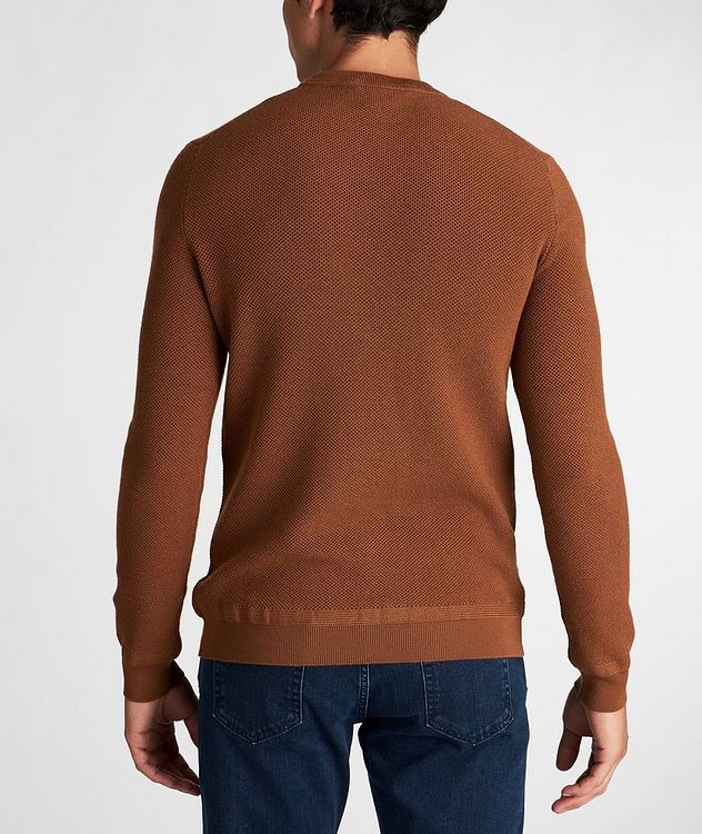 Waffle-Knit Wool-Cashmere Sweater picture 3