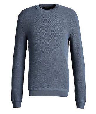 Ermenegildo Zegna Waffle-Knit Wool-Cashmere Sweater