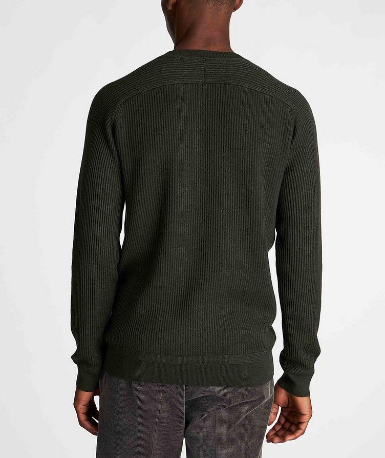 Ribbed Wool-Silk Sweater image 2