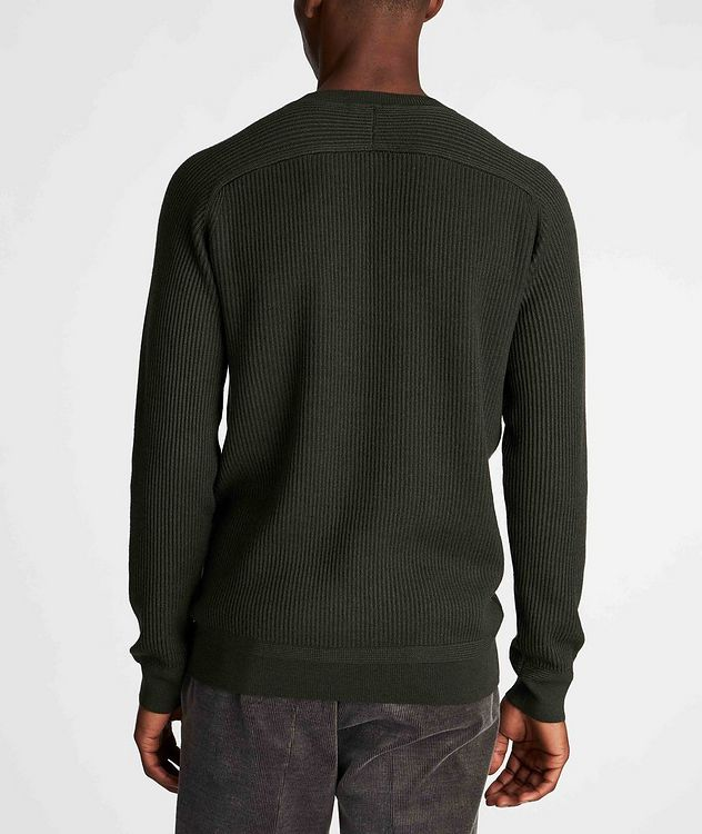 Ribbed Wool-Silk Sweater picture 3