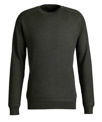 Ermenegildo Zegna Ribbed Wool-Silk Sweater