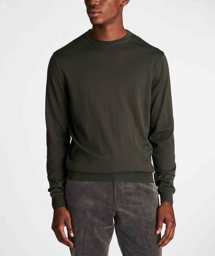 Pull en tricot de laine et cachemire image 1