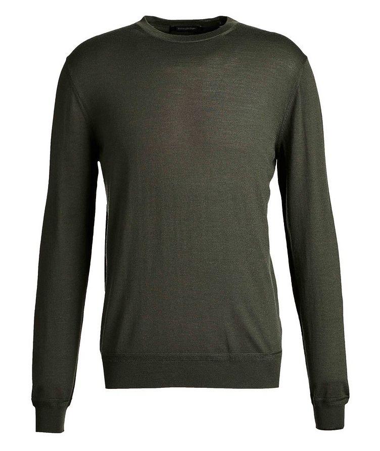 Pull en tricot de laine et cachemire image 0