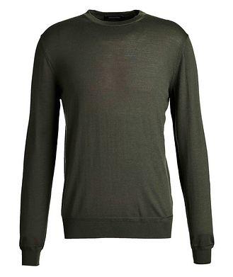 Ermenegildo Zegna Wool-Cashmere Knit Sweater