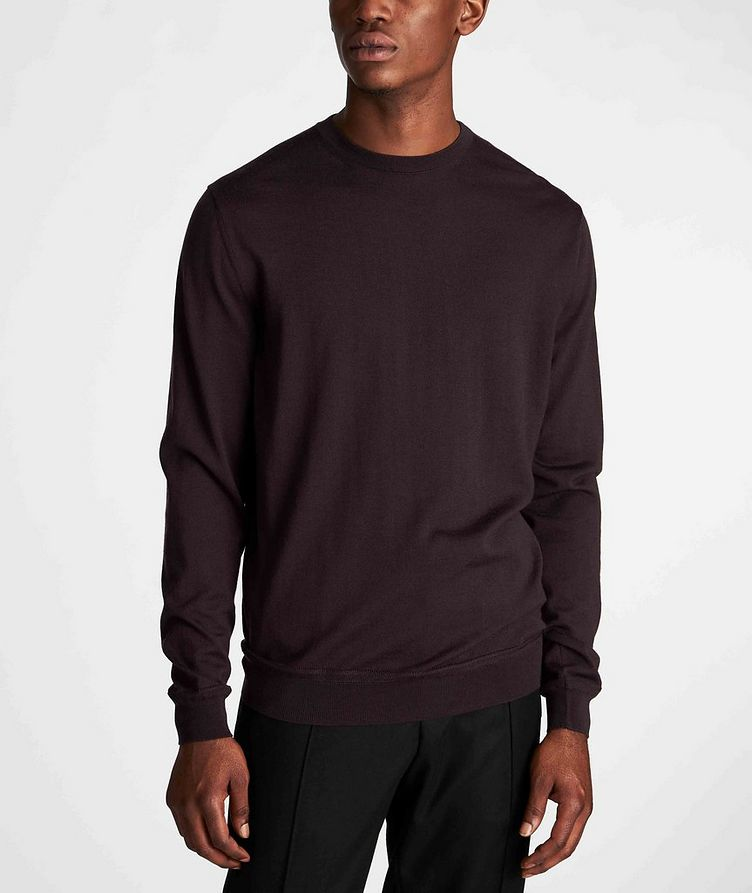 Wool-Cashmere Knit Sweater image 1