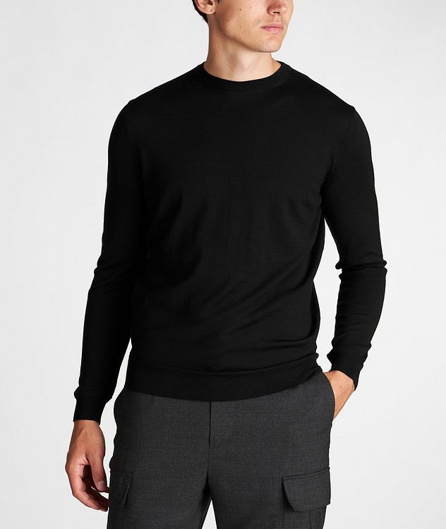 Wool-Cashmere Knit Sweater picture 2