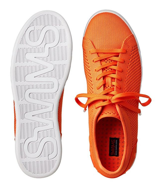 Knit Low-Top Sneakers picture 3