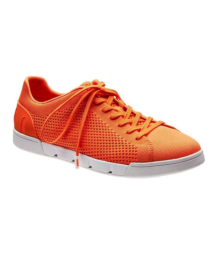 Knit Low-Top Sneakers image 0