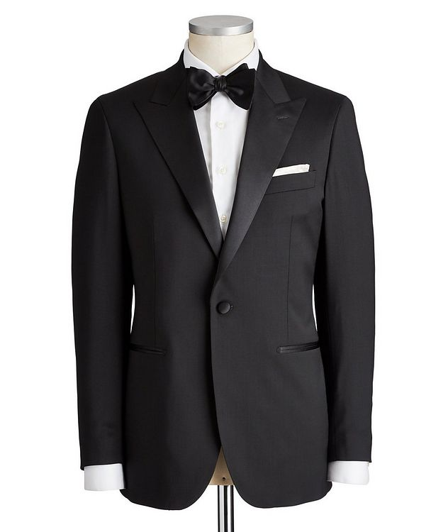 Slim Fit Stretch-Wool Tuxedo picture 1