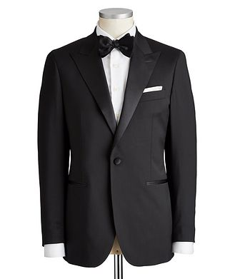Atelier Munro Slim Fit Stretch-Wool Tuxedo