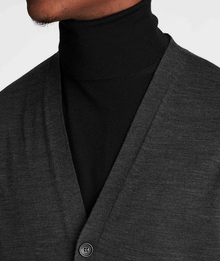 Button-Up Wool Vest image 3